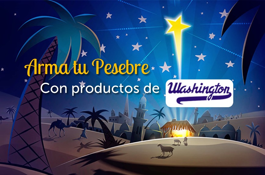 Arma tu Pesebre con Washington
